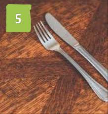 Beechenhurst Cafe Cutlery