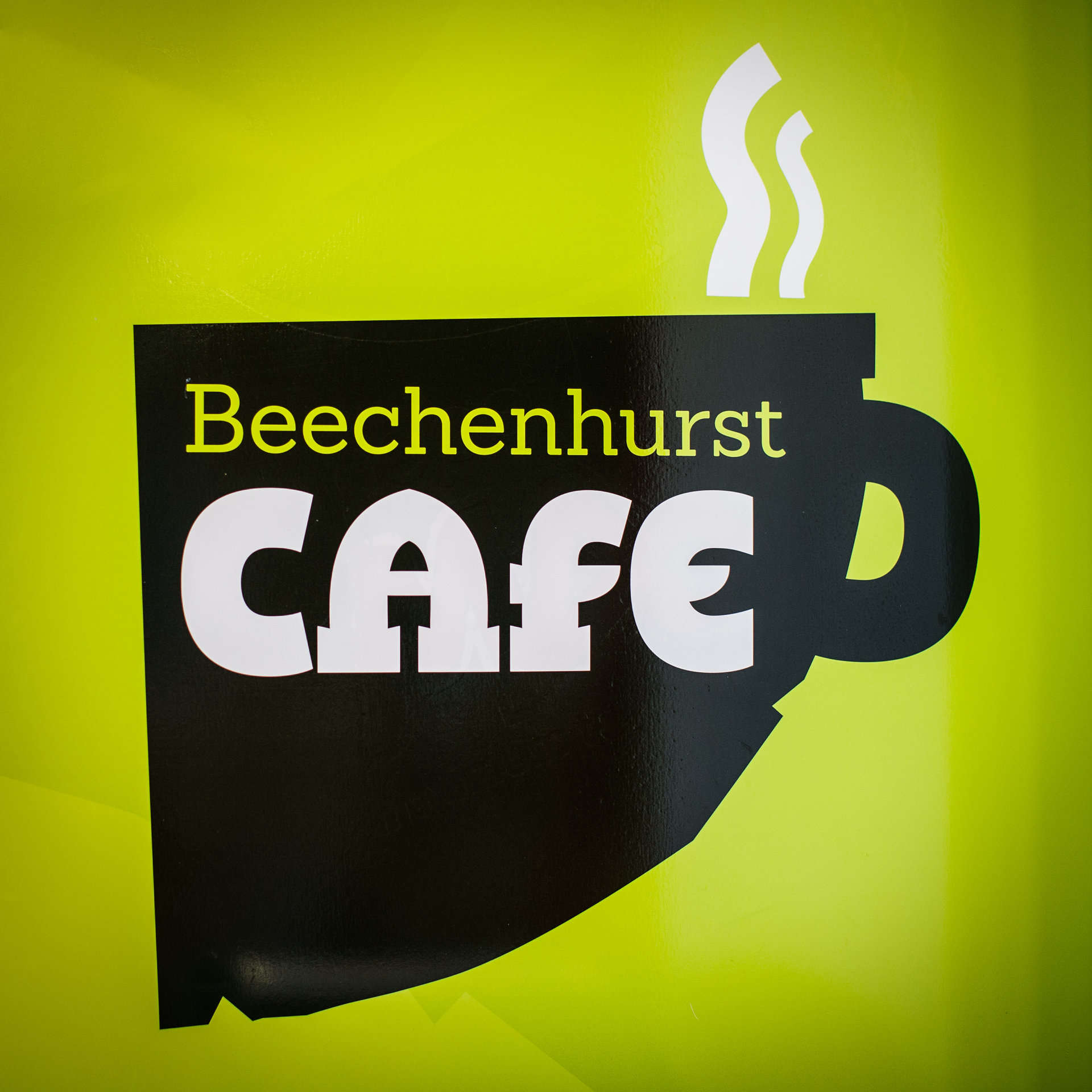 Beechenhurst Cafe Sign