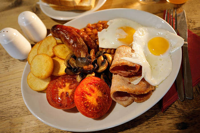 Breakfasts at Beechenhurst Cafe