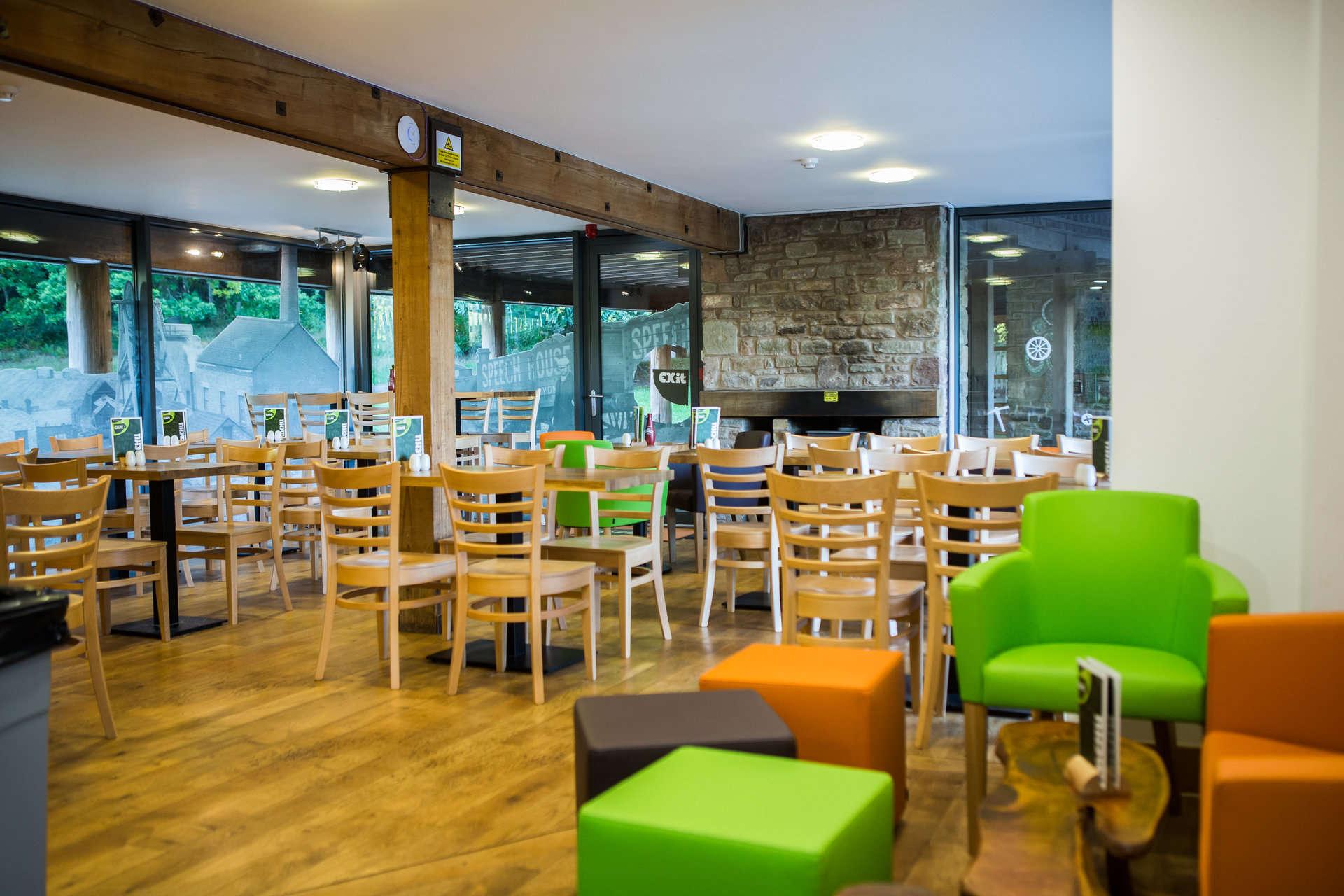 Inside seating at Beechenhurst Cafe