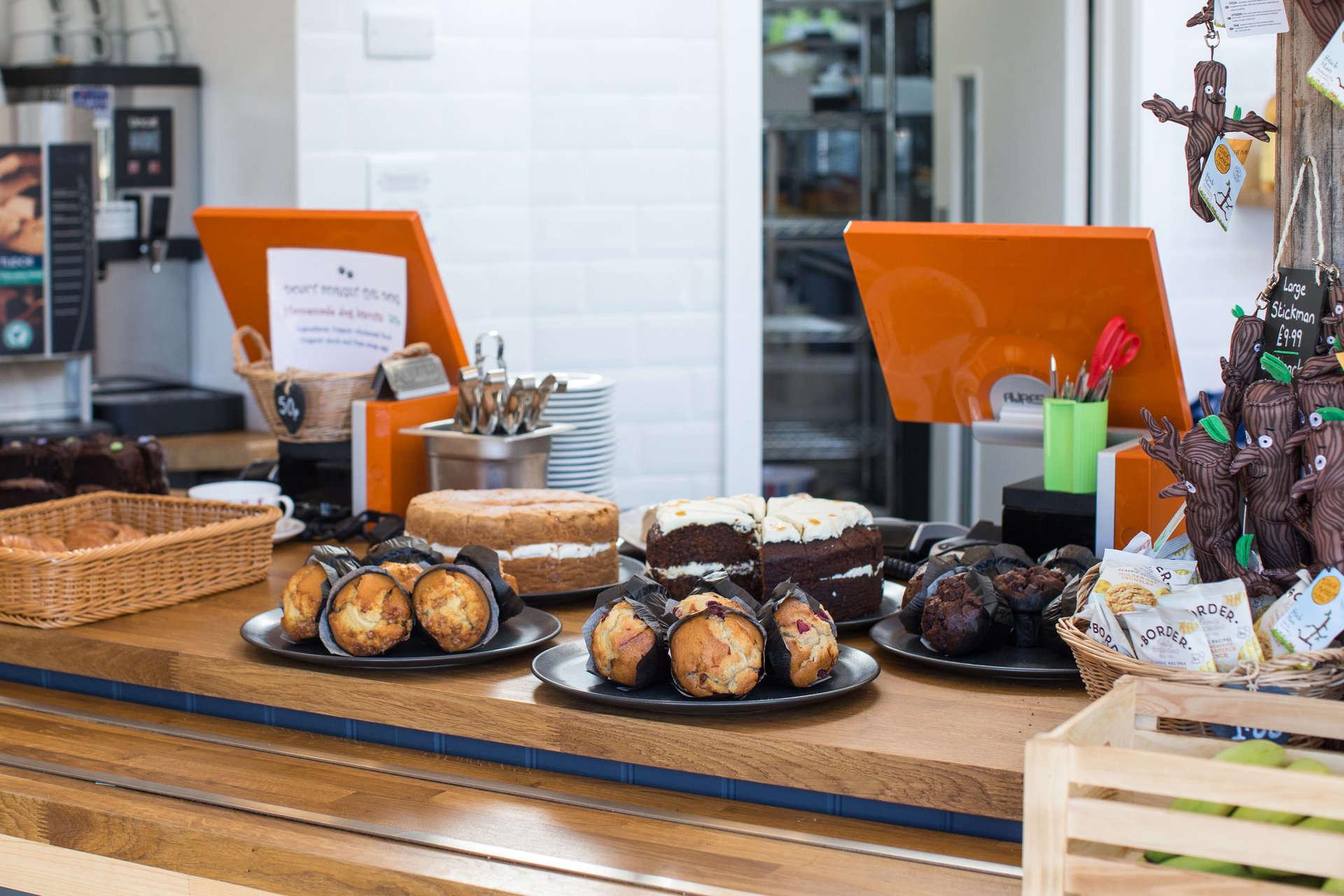 Tills at Beechenhurst Cafe