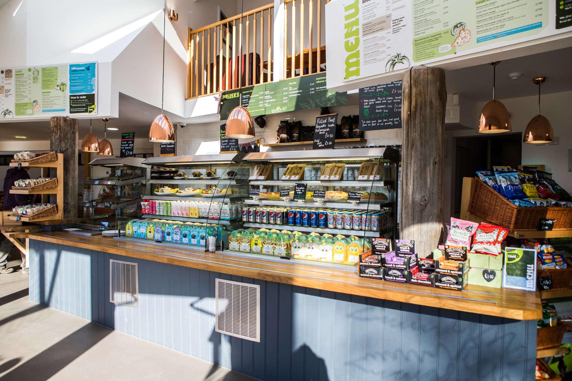 Beechenhurst Cafe servery